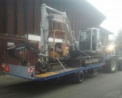 Maschinentransport